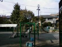 教室前の公園 SSS進学教室 元住吉